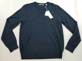 new VINCE men sweater 100% wool MO1016696 dark blue S MSRP $265 - $62.99