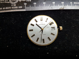 MOVADO KINGMATIC 2824 AUTO MOVEMENT AND DIAL FOR VINTAGE RESTORATIONS PARTS - $188.67