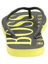 Hugo Boss Men's Wave Thong Digital Rubber Beach Pool Flip Flops Sandals 50388497 image 6