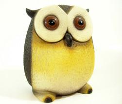 Harvey Knox Kingdom Owl Hand Painted Figurine Figure House Global Art Japan  image 2