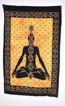 7 Sense Indian Tapestry Cotton Yoga Mat Meditation Door Deco Wall Hangin... - £9.95 GBP