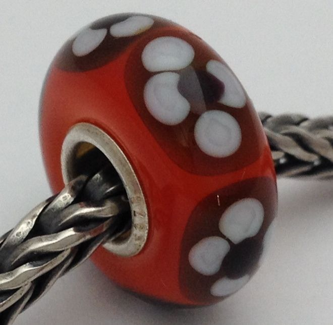 Authentic Trollbeads Letter X 11144X New .925 Silver Charm Bead