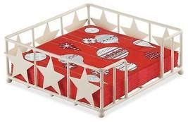 Weihnachten Nordische Kugeln rot 20 x 3-lagige Papierservietten & Stern - $16.35
