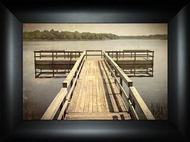 Paradise Pier By Todd Thunstedt 18x24 Northwoods State Park National Wil... - $69.00