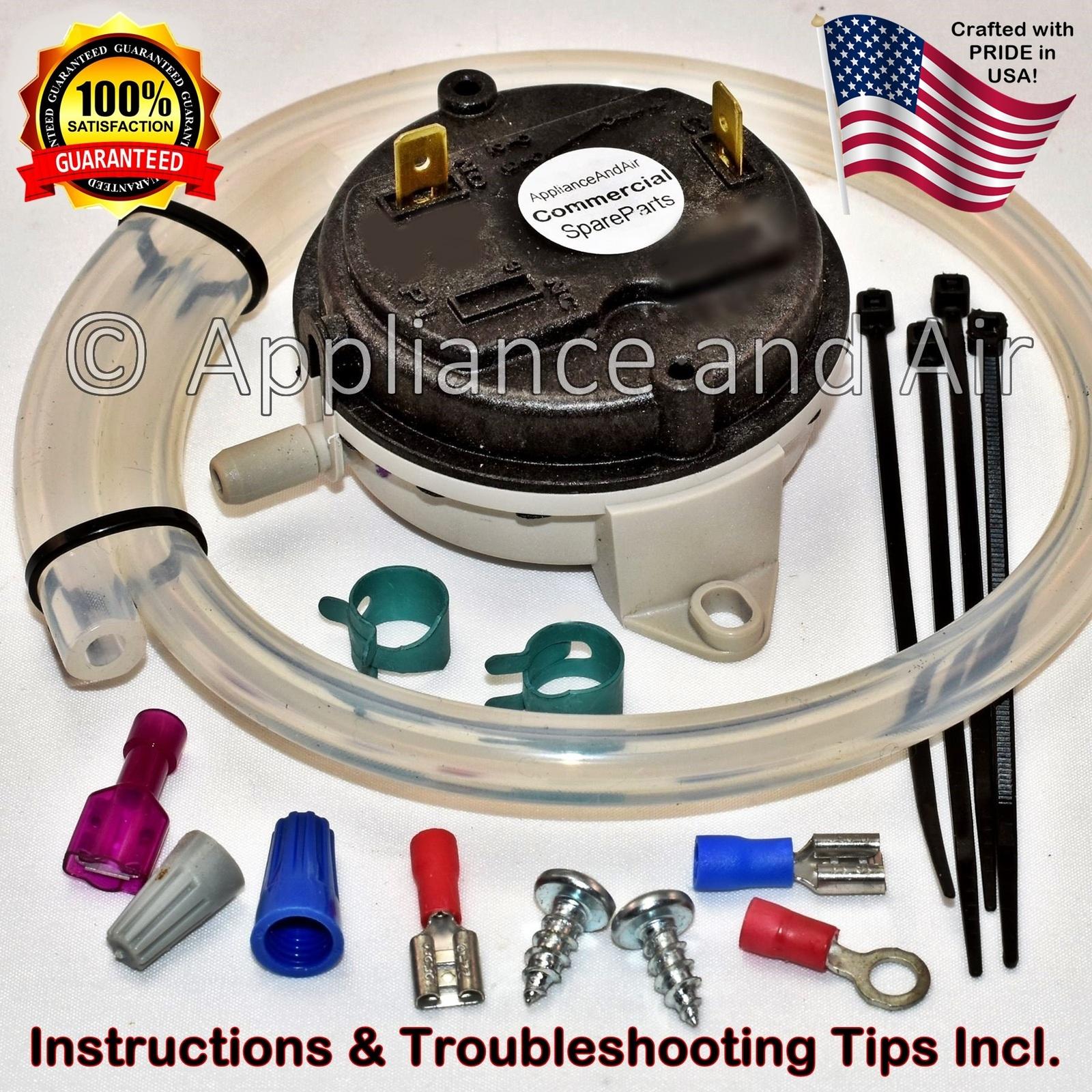 Vacuum switch  hose and hardware