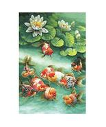 Panda Legends 500 Pieces Jigsaw Puzzle for Adults Chinese Painting Goldf... - $34.66