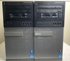 Lot of 2 Dell Optiplex 7010 MT i5-3470 3.20GHz|8GB|250/500GBNoOS|5GMSYV1 5GMWYV1 - $217.79