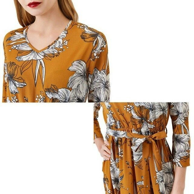 Women Dress Sexy Boho Casual Elegant Long Sleeves Floral Maxi Bodycon Summer New