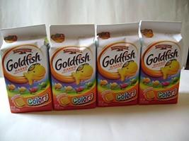 Pepperidge Farm Goldfish Cheddar Fun Holiday Colors 6.6 oz (Pack of 4) - $19.99