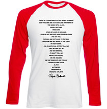 Charles Bukowski Love Is A Dog From Hell - New Red Long Sleeves Cotton Tshirt - $26.20
