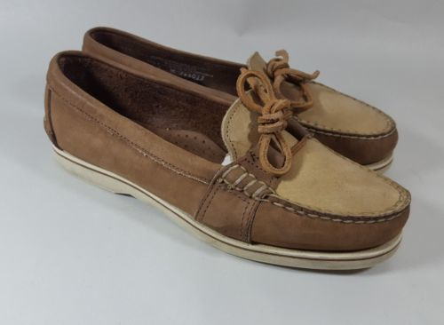 Timberland loafers 7 moc toe brown X
