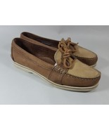 Timberland loafers 7 moc toe brown X - $14.01