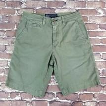 American Eagle Cargo Shorts Men's Active Flex ,Coin Pocket, Olive Sizes 26 & 28 - $13.99