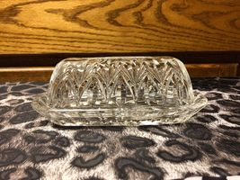 Marquis By Waterford Sheridan Crystal Leaded Covered Butter Dish - $16.94