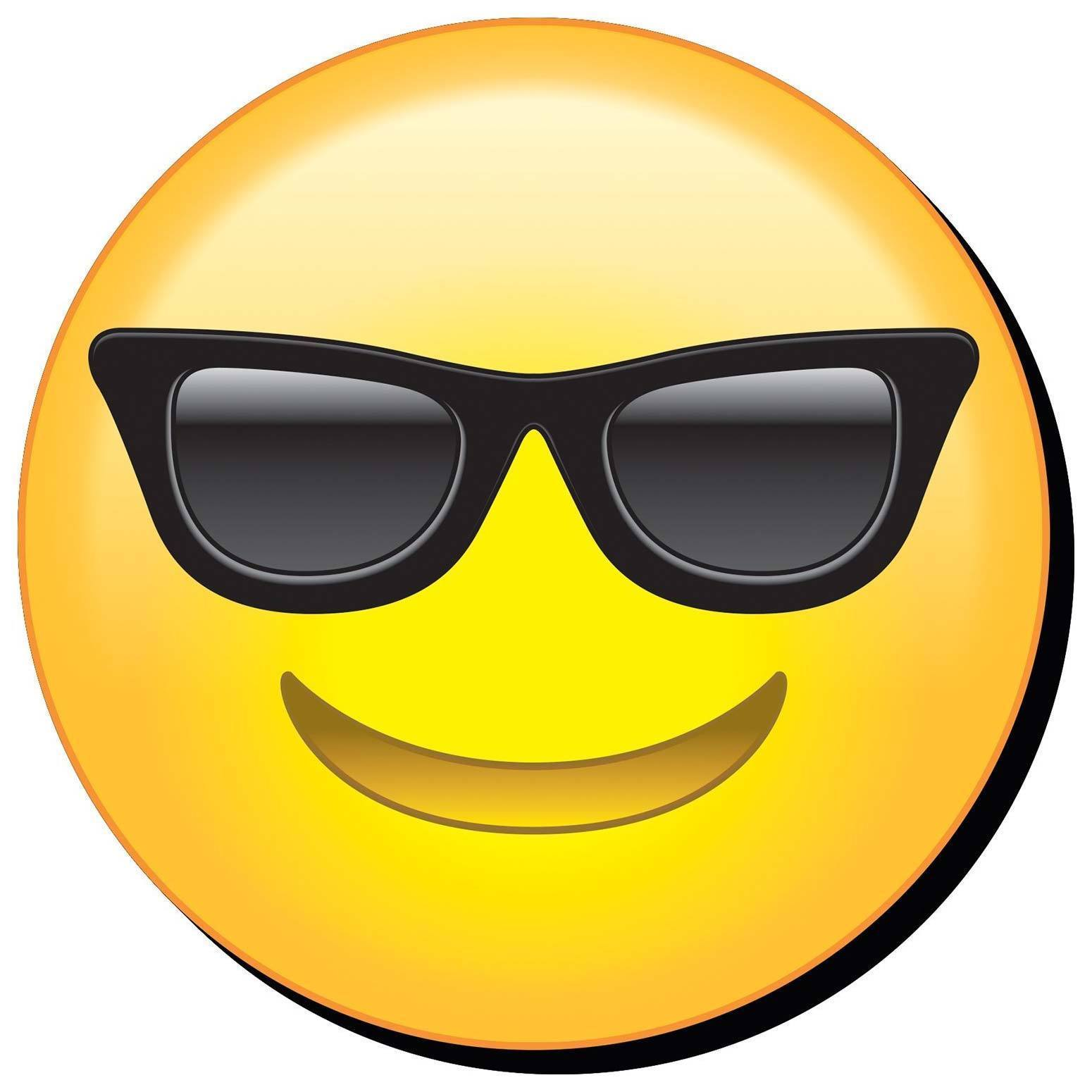 Cool Sunglasses Emoji Magnet Yellow - Magnets