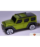 HTF KEY CHAIN NEW JEEP WRANGLER RESCUE GREEN 4X4 CUSTOM LIMITED EDITION ... - $44.98