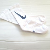 Nike Youth Cushioned Crew Socks - SX6840 - White - Size M - NEW - $6.99