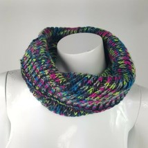 Xhilaration Colorful Knit Infinity Cowl Neck Gaitor Scarf NWT Acrylic On... - €7,94 EUR