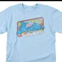 Superman Supermobile DC Comics Super Friends JLA graphic t-shirt DCO632 image 2