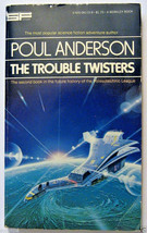 Trouble Twisters by Poul Anderson 1977 Sci-fi Paperback Book - $4.94