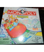 Monopoly Jr 1999 Board Game-Complete - $14.00