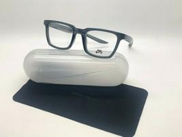 New NIKE7111 065 Dark Grey Optical Eyeglasses 50-20-145MM /CASE &Cloth - $58.17