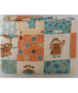Fabric Erlanger, Childrens Pattern, County Boy/Girl, 42 Wide 2 Yards - $12.99
