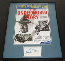 Gale Storm Signed Framed 16x20 Poster Photo Display The Underworld Story - $65.09