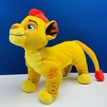 Walt Disney Plush stuffed animal vtg toy The Lion King Kion vintage red ... - $28.82