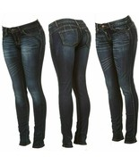 Cover Girl Women's curve-hugging stretchJeans Antique Dark Wash  - $49.00