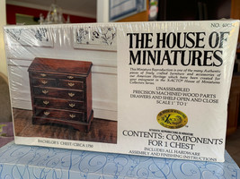 Dollhouse House of Miniatures Bachelor's Chest Circa 1750 No 40054 New S... - $14.99