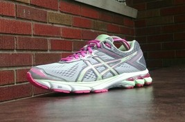 Womens Asics GT 1000 4 Running Shoes SZ 8 39.5 Used t5a7n Sneakers Trainers - $29.69
