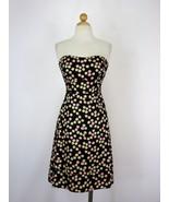 Dress Silk Dress Strapless Party Dress J Crew Silk Abstract Print 0 $200 - $37.62