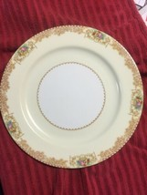 Noritake Acton Large Dinner Plates Roses And Flowers Design 1933 - $7.87