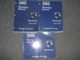 2002 Ford Windstar MINI VAN Service Shop Repair Workshop Manual Set OEM ... - $28.82