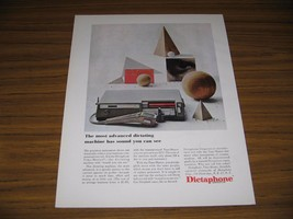 1961 Print Ad Dictaphone Dictating Machines New York,NY - $10.40