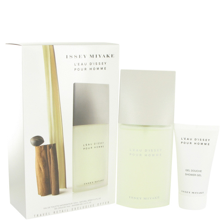 Issey Miyake L'eau D'issey Eau De Toilette Spray 4.2 Oz + Shower Gel 2.5 Oz Set