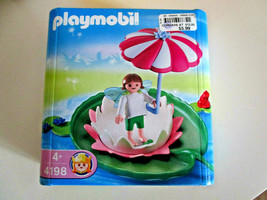 PLAYMOBIL 4198 WATER LILY FAIRY Play Set Toy NEW IN BOX 4 yrs + dated 2006 - $11.88