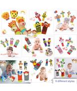 The Season Toys 4pcs Infant Baby Wrist Rattles and Foot Socks Developmen... - $13.88+