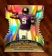 TEDDY BRIDGEWATER 2014 BOWMAN CHROME MINI DIECUT REFRACTOR ROOKIE PSA10?... - $29.69
