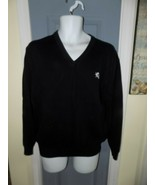 Express Black V-Neck Sweater Size L Men's EUC - $26.40
