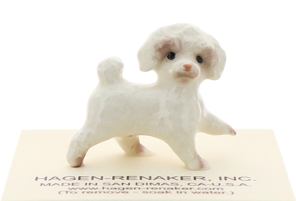 Hagen-Renaker Miniature Ceramic Dog Figurine Toy Poodle