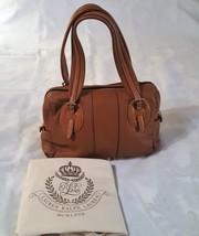 *LAUREN By RALPH LAUREN* Shoulder Handbag Purse Bag Tan  - $1.434,23 MXN