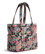 VERA BRADLEY RETIRED GET CARRIED AWYA TOTE PARISIAN PAISLEY BRAND NEW WI... - $254.99