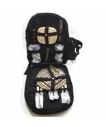 Picnic At Ascot Two Person Picnic Backpack Black - $101.75