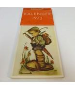 Hummel Calendar 1973 West Germany Kalender Verlag Josef Muller Munchen  - $12.59