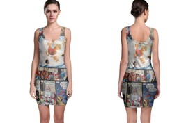 Illuminati Of Marvel Women's Sleevless Bodycon Dress - $21.80+