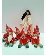BAPS Snow White And The Seven Dwarfs Set Vintage Germany Bartel Edith Vo... - $340.00