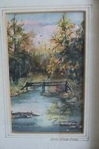 DEE KIRKPATRICK Painting Rock Creek Park Bethesda Maryland Original Art - $79.99