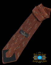 "New BILL BLASS BLACK LABEL SILK TIE Brown, Blue 54"" - $8.95"